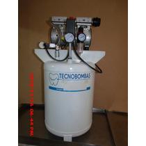 Compresor Libre De Aceite Silencioso 1 Hp 50 Lt. Tecnobombas