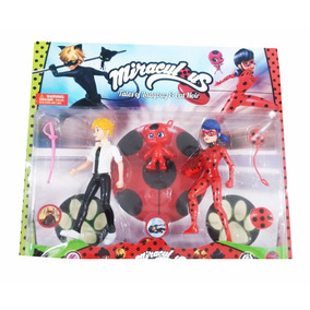Juguete Set De Muñecos De Ladybug Miraculos 19cm Figuras