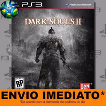 Dark Souls 2 Ii - Ps3 - Código Psn - Legendas Pt-br