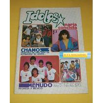Menudo Yuri Chamos Maria Conchita Alonso Revista Idolos 84
