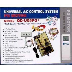 Plaqueta Universal Aire Acondicionado Split Pulso Qd-u05pg