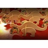 Dinosaurios, Para Armar, Puzzle.en Fibro Facil 30 Souvenir