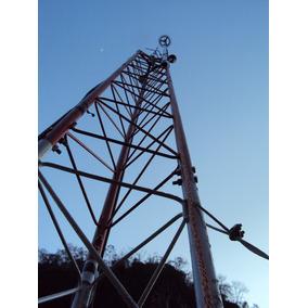 Torre De Comunicaciones Arriostrada De 15mts T30