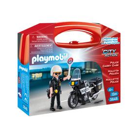 Playmobil City Action 5648 Maletín Policía Mejor Precio!!