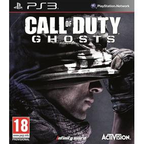 Jogo Midia Fisica Novo Call Of Duty Ghosts Playstation Ps3