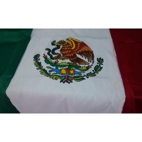 Bandera Mexico Preescolar .60x1.05 Pint Asta Cuja Moño Base