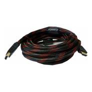 Cable Hdmi 3mts Premium Enmallado Doble Filtro
