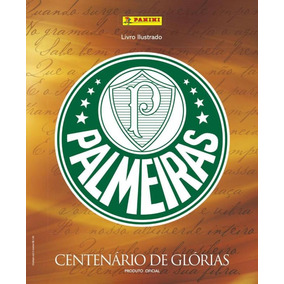 Álbum Palmeiras Centenário De Glórias Capa Dura + 50 Cromos