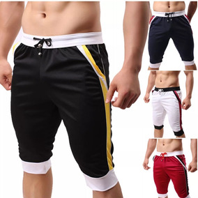 Harem Gym Pants Shorts Moda Japonesa Playa Slimfit 6 Colores