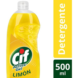 Detergente Cif Active Concentrado Limon Gel 500ml