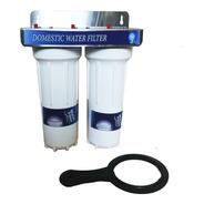 Filtro Purificador Agua Conexión 1/2 2 Etapas Filtración