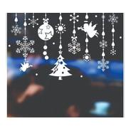 Vinilos Navideños Planchas  Vidrieras Felices Fiestas  N6