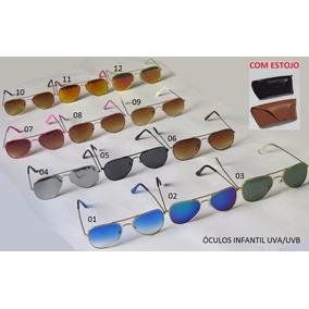 Óculos Infantil Estilo Aviador - Garanta Já O Seu