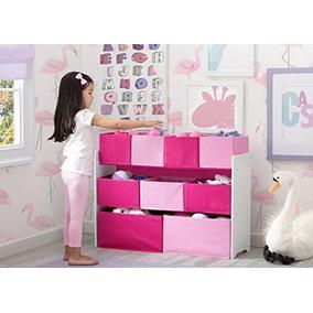 Juguetero Organizador Deluxe Para Niñas Rosa Pink