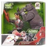 Mattel Max Steel Muñeco Con Oso
