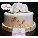 Torta Boda Civil Matrimonio