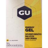 Gu Energy Gel Caixa Com 24 Unidades Escolha Sabor