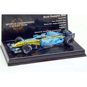 Minichamps 1 43 Renault R26 Alonso F1 2006 Campeao   Senna 12e38849f8958