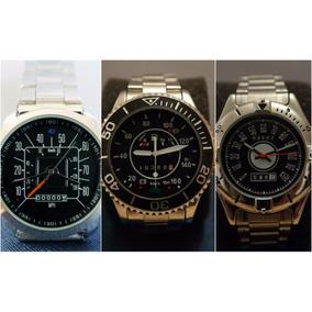 Combo 3 Relojes Edición Vocho, Ford 79 Y Mustang/maverick
