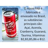 Fab Energético Drinks Da Forever Caixa Com 48 Latas