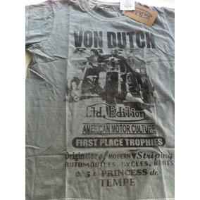 Camiseta Von Dutch Motociclista Vintage Original