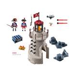 Playmobil Play Movil Faro Torre Y Soldados Cañon Luz Smile