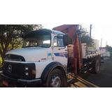Caminhão Mb 1113 Toco Motor 1418 Munck 10000 4 Lanças