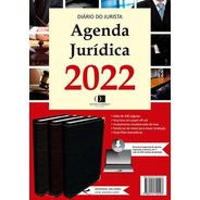 Agenda Jurídica 2022 Cor Vinho + Agenda Eletrônica 2022
