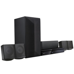 Home Theater Blu-ray 3d Lg Lhb625m, Full Hd, 5.1 Canais