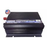 Inversor De Energia 1200w Transformador 12v P/220v Americano