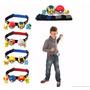 Pokebolla 7 Cm Mas Cinturon Porta Pokebolla + 2 Pokemones