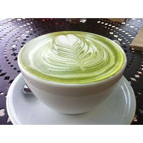 Polvo Base Para Cappuccino De Te Verde Para Vending Machine