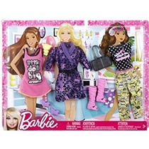 Juguete Ropa Fashion Pack Mattel Barbie - Pijamas (2012)