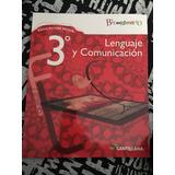 Lenguaje Y Comunicación 3 Medio Bicentenario Santillana