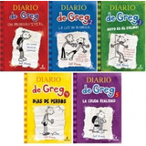 Diario De Greg 3 Libros Incluye Envio