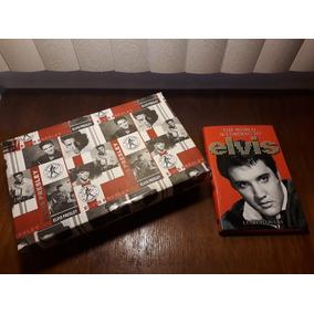 Elvis Presley Conjunto 6 Xícaras+livro The World According..