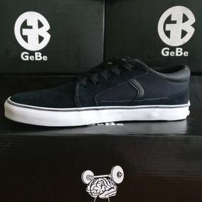 Zapatillas Gebe Hummer Negro - Skate Tipo Vans