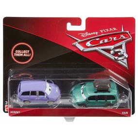 Set 2 Autos Disney Pixar Cars 3 Minny Y Van Colección Niños