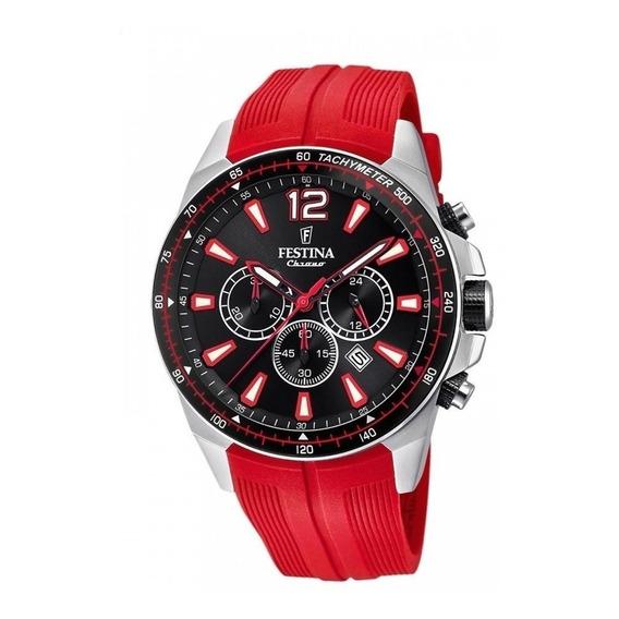 Reloj Festina Chrono Rojo Hombre F20376.6