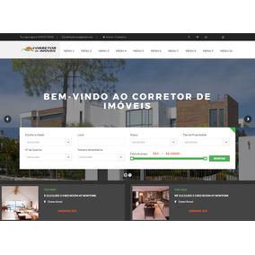 Site Para Sua Imobiliária Ou De Corretores De Imoves
