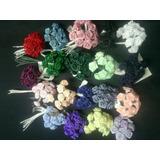 Rosas De Tela Rococo X 144fls