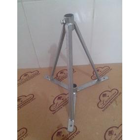 Suporte Torre De Ferro Galvanizado Para Antena Externa