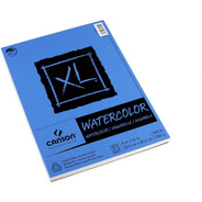 Block Sketchbook Dibujo Canson Xl Watercolor 23x30cm 300g