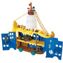 Gran Barco Jake Y Piratas 4 Pisos Fisher Price Disney Junior