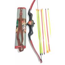 Brinquedo Arco E Flecha Super Shootser Infantil 06 Flechas
