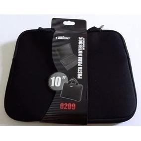 Pasta Case Netbook Bag Preta 10 Bright Modelo 0209 Reforçad