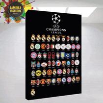 Uefa Champion League, Cuadros De Campeones De Futbol