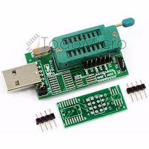 Programador Usb Memorias Eeprom 24 25 Bios Spi Flash Zocalo