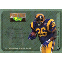 1995 Pro Line National Sports Convention Jerome Bettis Rams