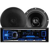 Reproductor De Carro Boss + Bluetooth + 2 Altavoces + New